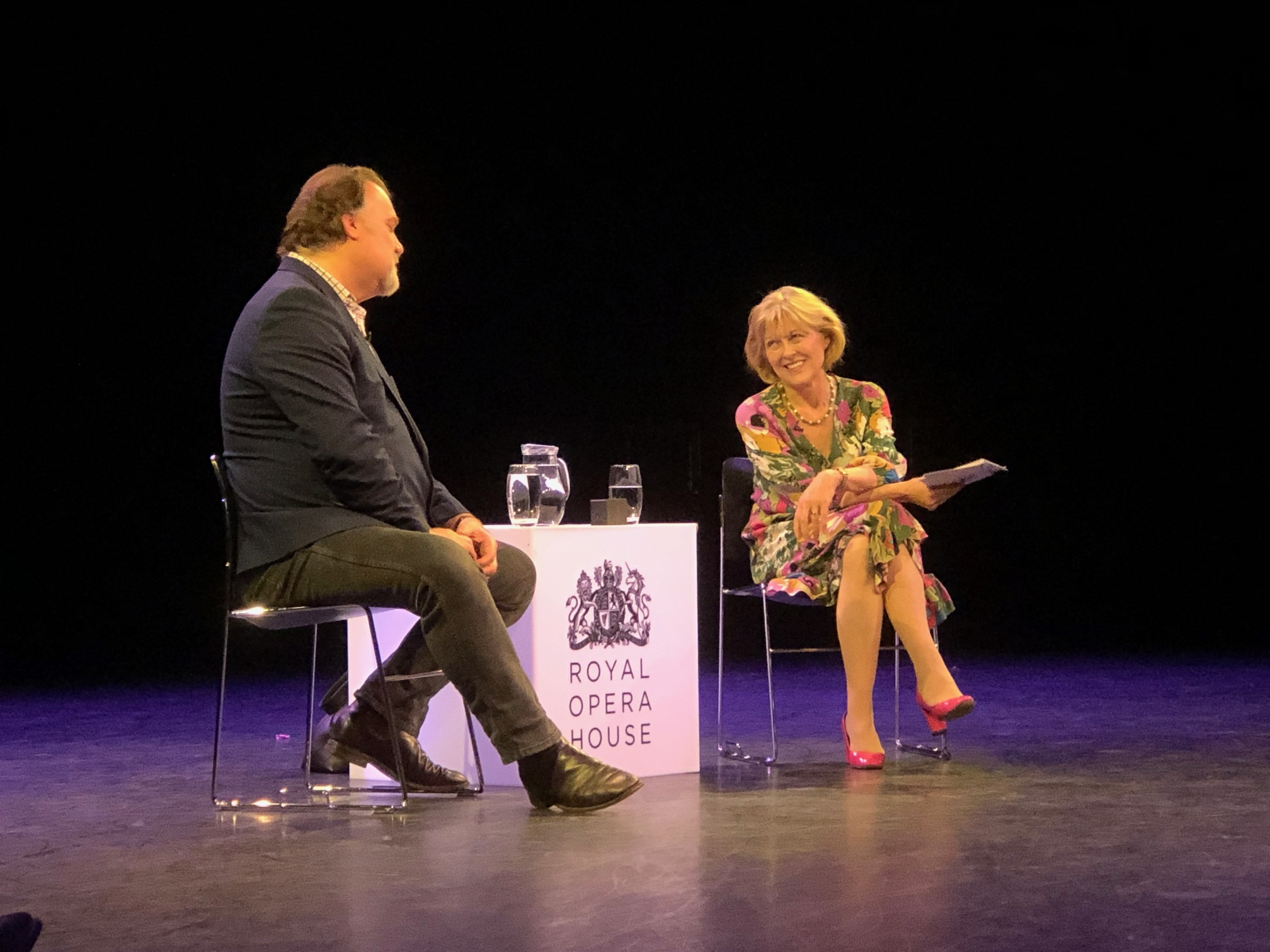 Presenter/Interviewer, An Evening with Sir Bryn Terfel
